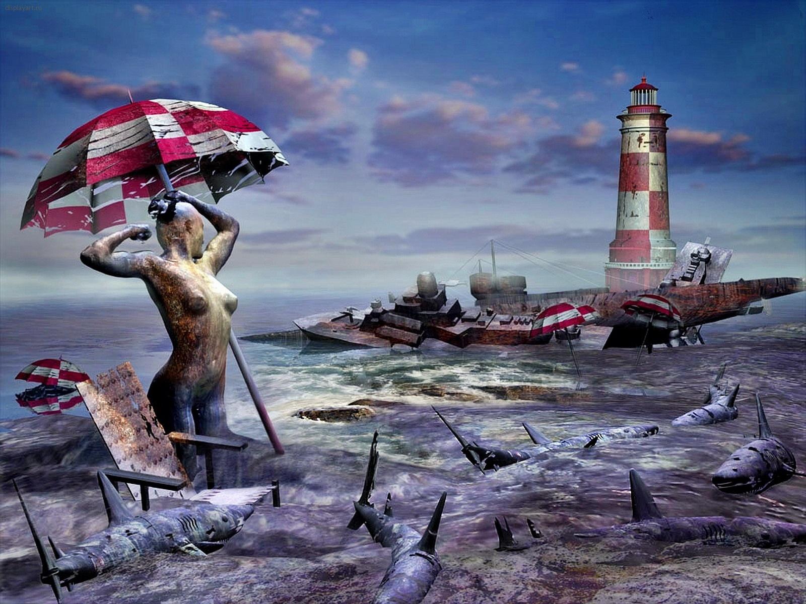 Fantasy Art Wallpapers 3D Digital Image Gallery Pictures of surrealism art